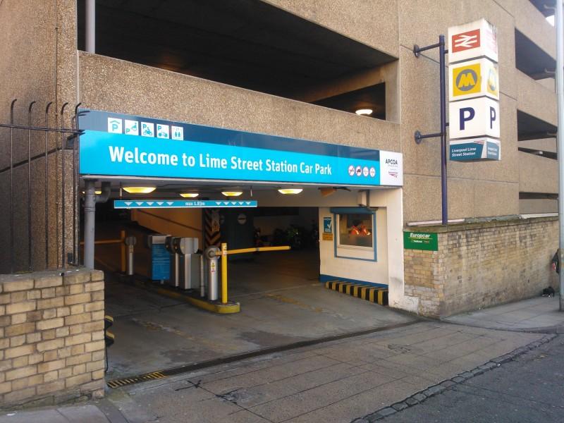 Paddington Station Car Park Europcar